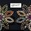 Thumbnail: Naurangi 22k Gold plated earrings.