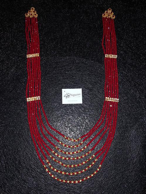 Heera 22k Gold plated Handcrafted Mala