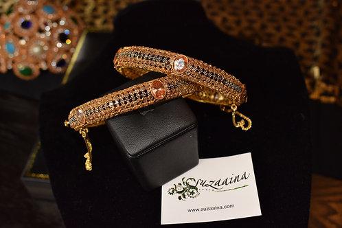 Jaya 22k Gold plated Bangles.