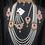 Thumbnail: Zimal 22k Gold plated Choker Bridal Set