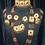 Thumbnail: Husana 22k Gold plated Handcrafted Choker Bridal Set