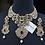 Thumbnail: Belaash 22k Gold plated Bridal Set.