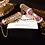 Thumbnail: Elayna 24k Gold plated ruby stones & pearls Bangles