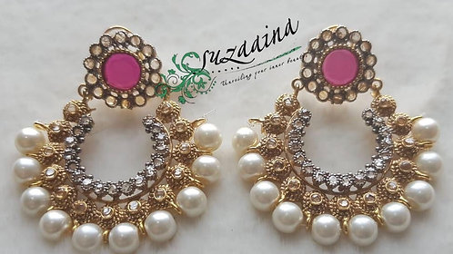 Jenny 22k Gold plated Handcrafted Earrings.