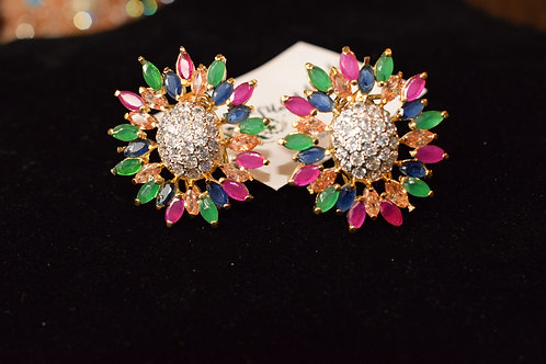 Areeha 22k Gold plated Earrings.