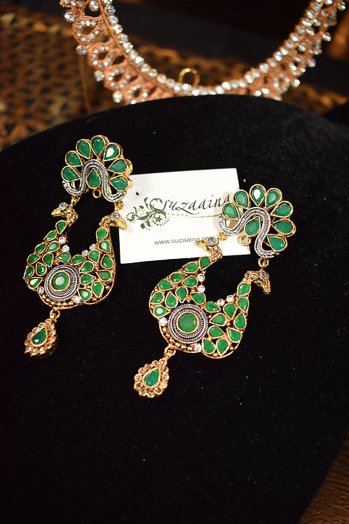 Husna 22k Gold Plated Handcrafted Earrings
