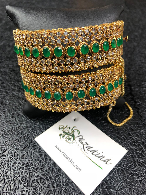 Gamila 22k Gold plated Handcrafted Bangle