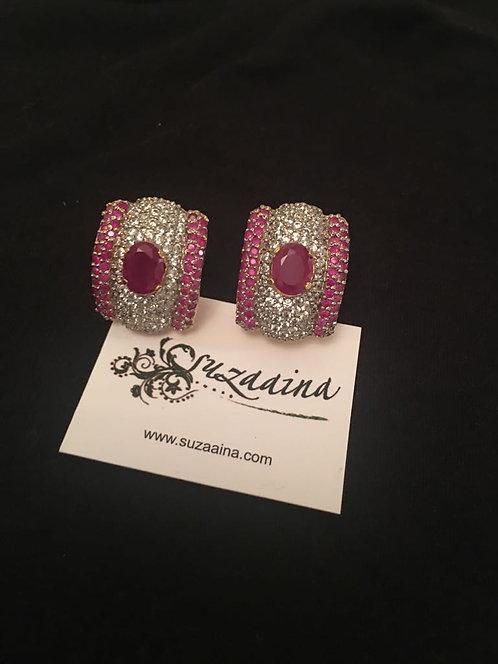 Sim 22k Gold plated Earrings