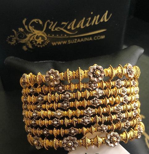 Horya 24k Goldplated Set of bangles.