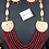 Thumbnail: Sultani 22k Gold plated Handcrafted Mala Set.