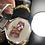 Thumbnail: Vogue 18k Gold plated Rosary Bohemia Stud Earring