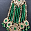 Thumbnail: Meerab 22k Gold Plated Handcrafted Kundan Jhumar