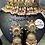 Thumbnail: Sibgha 22k Gold plated Handcrafted Choker Bridal Set