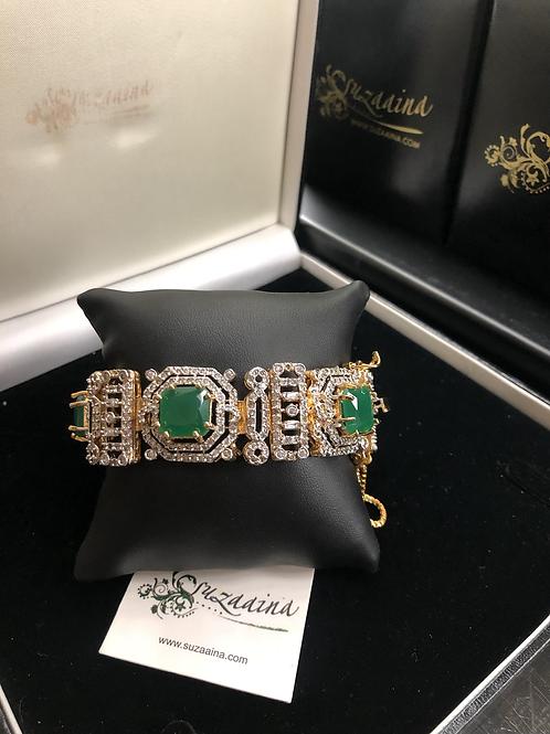 Jamina Rhodium plated Jurhao Bracelet