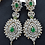Thumbnail: Soha 22k Gold and Rhodium plated Bridal Set.