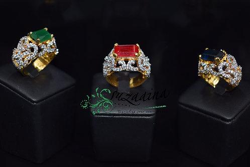 Royal 22k Gold plated Ring