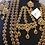 Thumbnail: Maikal 22k Gold plated Handcrafted Choker Bridal Set