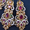 Thumbnail: Sabeen 22k Gold played Earrings