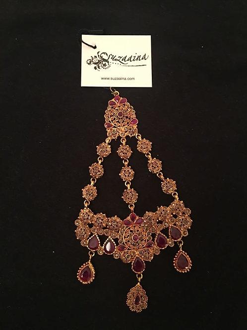 Zanita 22k Gold plated Jhumar