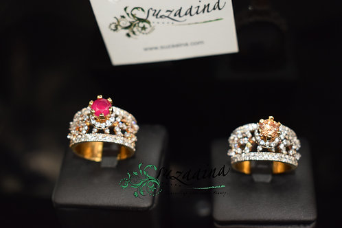 Queen 22k Gold plated Ring