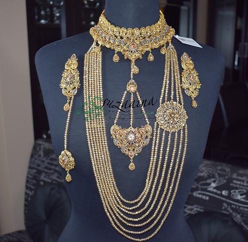 Paras Goldplated Bridal Set