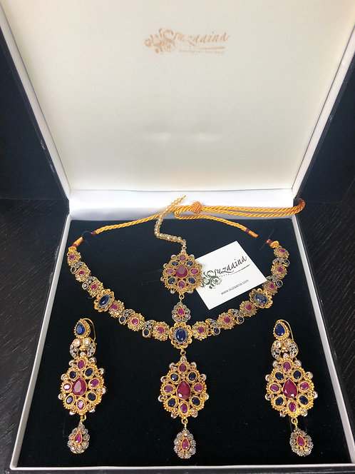 Uzza 22k Gold plated Set