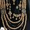 Thumbnail: Subhani 22k Gold plated Set with Ankara Mala.