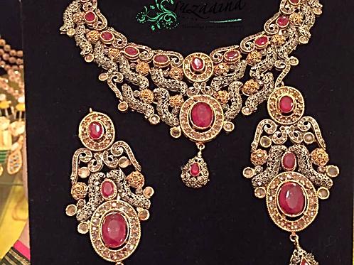 Manahil bridal set