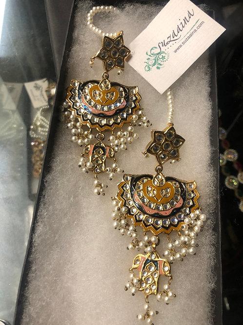 SZER10 Meena 22k Goldplated Earrings.