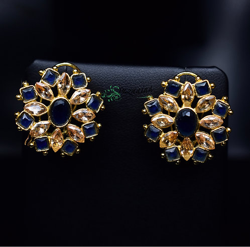 Nida 22k Gold plated Handcrafted Earrings.