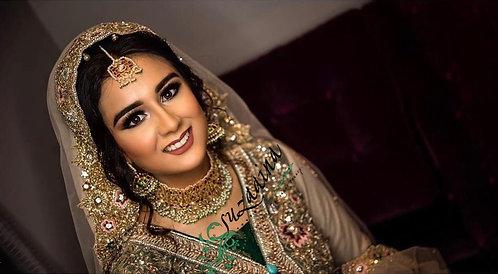 Samar 22k Gold plated Handcrafted Bridal Set.