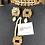 Thumbnail: Jarnila 22k Gold plated Handcrafted Kundan Choker Set