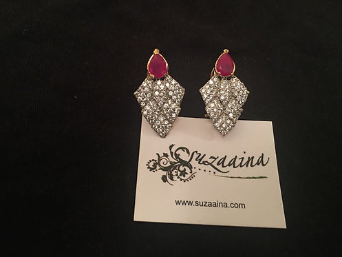 Tanza 22k Gold plated Earrings