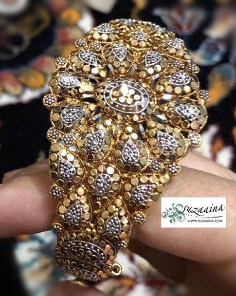 Salchan 22k Goldplated Bangle (Baye)