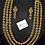 Thumbnail: Maikal 22k Gold plated Bridal Set.