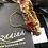Thumbnail: Chakori 22k Gold plated Handcrafted Feroza Polki Bangle