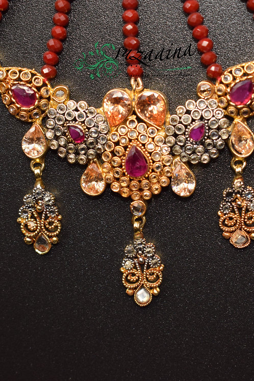 Ghazia 22k Gold Plated Jhumar