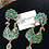 Thumbnail: Husna 22k Gold Plated Handcrafted Earrings