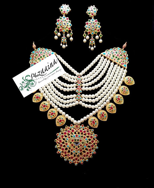 Balochi 22K Gold plated Handcrafted Set.