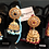Thumbnail: Kaela 22k Gold plated Jhumkey