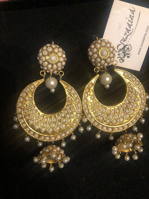 Chand 22k Gold plated Handcrafted Pearl Baley
