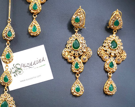 Subhani 22k Gold plated Handcrafted Earrings