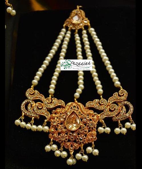 Malika 22k Gold plated Jhumer.