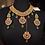 Thumbnail: Reem Gold plated Bridal Set