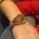 Thumbnail: Salchan 22k Goldplated Bangle (Baye)
