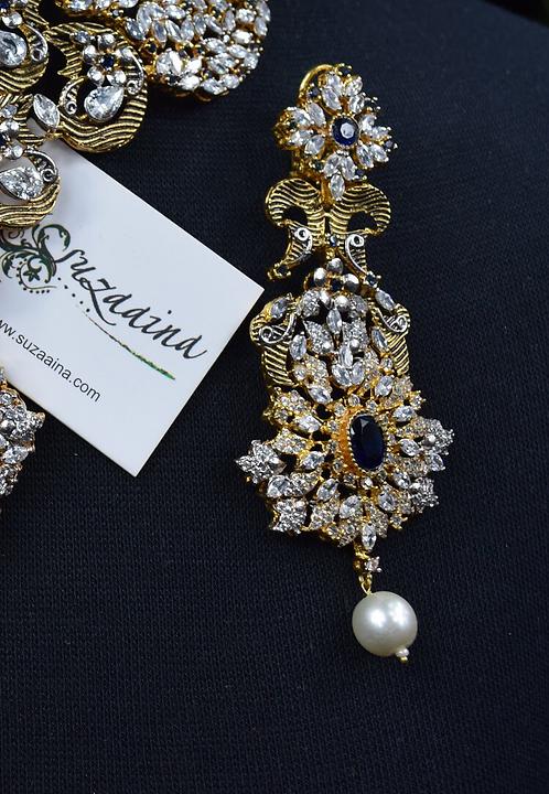 Belaash 22k Gold Plated Handcrafted Earrings