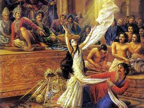How did Draupadi's Cheer Haran Lead to the Downfall of the Kauravas in the Mahabharata?