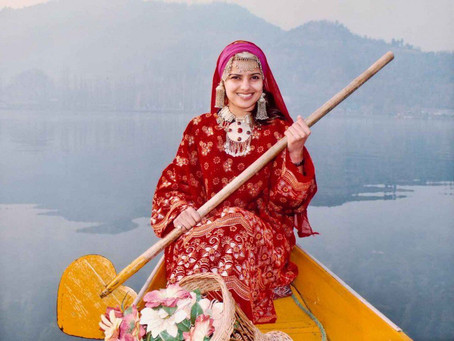 The Traditional Attire of Kashmir