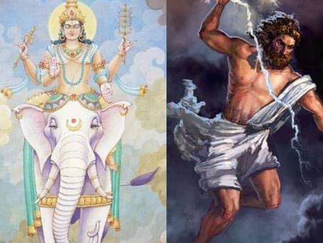 Indra and Zeus- The Hindu and Greek Rain Gods