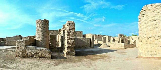 Mohenjodaro-buildings